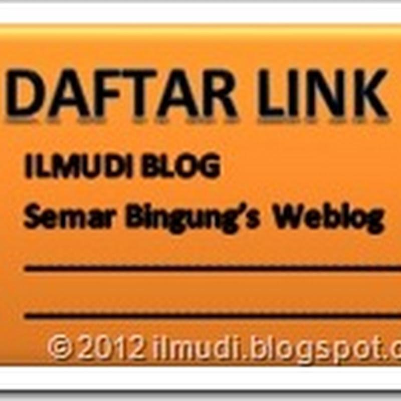 Cara Menjadikan Tautan Dalam Daftar Link Blog Terbuka Di Halaman Baru Saat Diklik