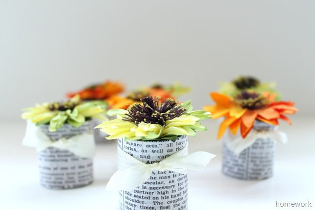 Paper Flower Favors 8