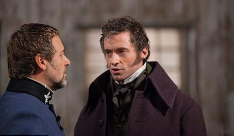 Policeman Javert & Ex-Prisoner Jean Valijean