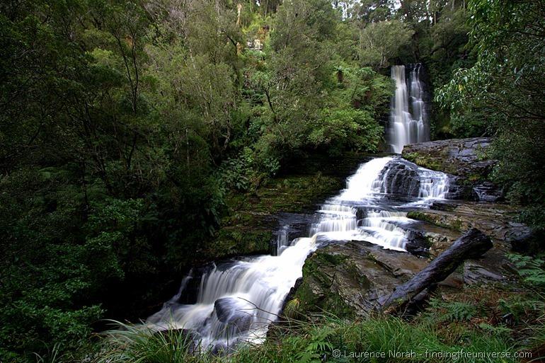 Mitai Wasserfall mit Langzeitbelichtung