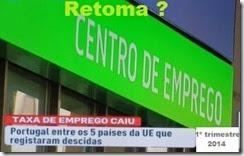 Emprego em Portugal deminui. Jun.2014