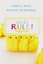 Lil Luna - Chicks Rule Free Easter Printable