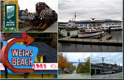 Weirs Beach collage