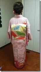 着付師 吉田さんの出張着付け (1)