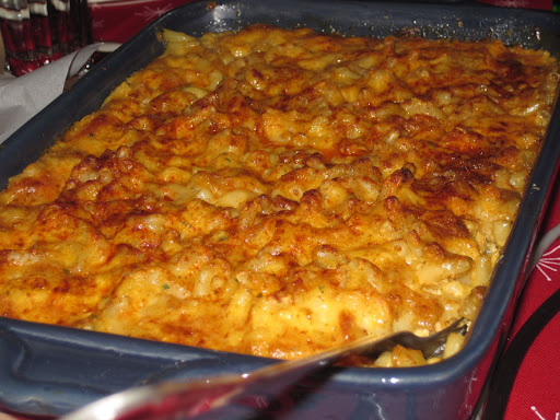 John's mind-blowing macaroni and cheese!