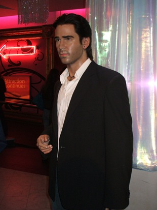 Colin Farrell model at Madame Tussauds