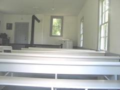Cape Cod Yarmouthportinside old Kelly church3