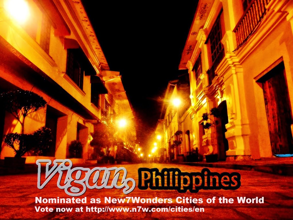 Vigan, Philippines: Nominated as the New7Wonders Cities of the World