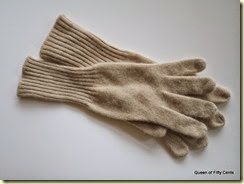 Cashmere & wool gloves
