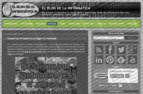 Menú CSS en Blogger - imagen principal del post