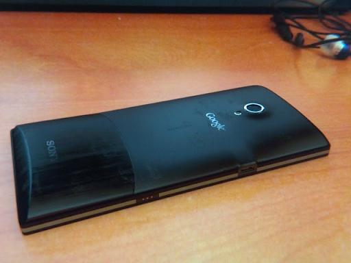 Sony Nexus Back