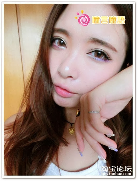 日本ROYAL VISION隱形眼鏡-蜜桃甜心粉紅12
