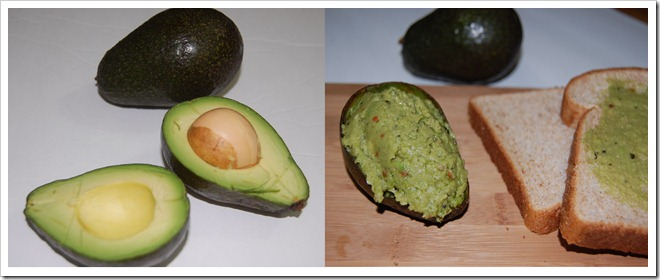 Avocado chutney Process