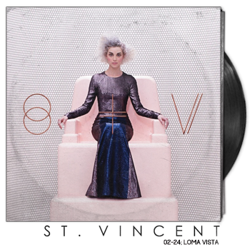 St Vincent by St Vincent