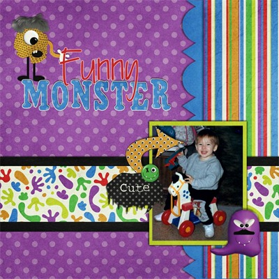 Leaving a Legacy Designs - Moody Monster - Funny Monster