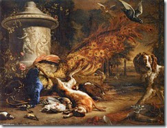 Jan-Weenix-Still-Life-with-a-Peacock-and-a-Dog-2-