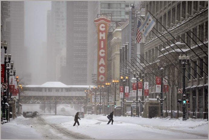 chicago snow