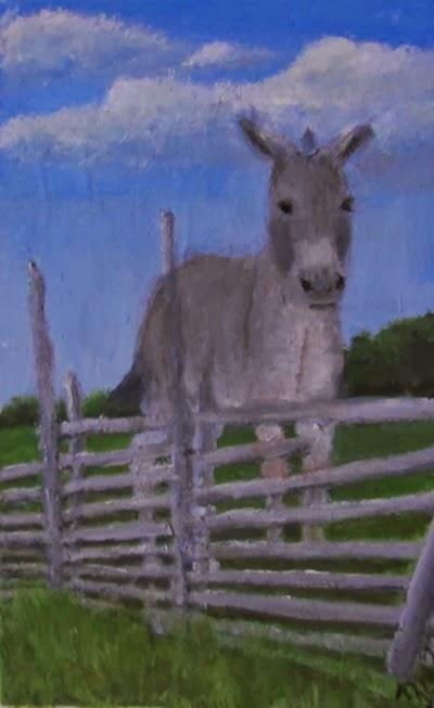 donkey for stubbornness