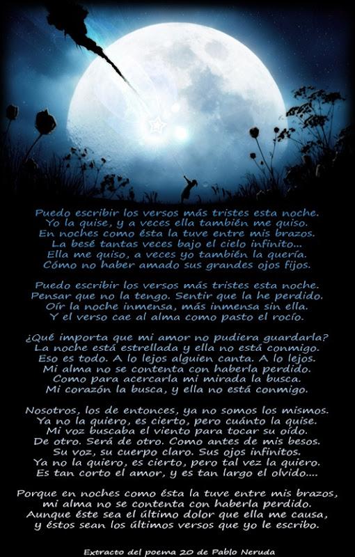 poema 20 de Neruda