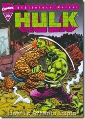 P00020 - Biblioteca Marvel - Hulk #20