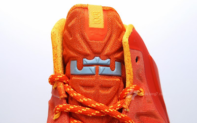 nike lebron 11 gr atomic orange 2 08 forging iron A Sizzling Look at Nike LeBron XI Forging Iron