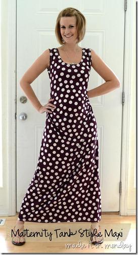 Maternity Maxi Dress Pattern