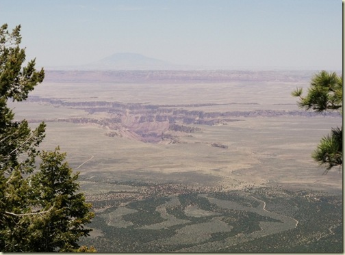 09 Looking E at Navajo Mt, Marble canyon & House Rock Valley from Marble View Kaibab NF AZ (1024x754)
