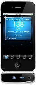 iPhone Glucose Monitor 0