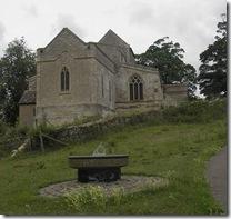 Waddenhoe church and sundial