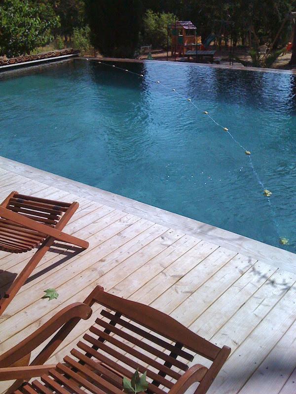 piscine bois 77