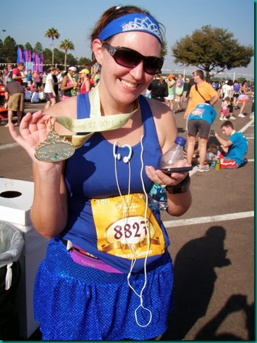 Princess 2011 finisher