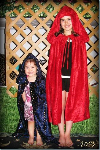 cloaks girls