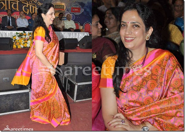 Floral_Print_Work_Saree