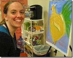 Painting - Allison