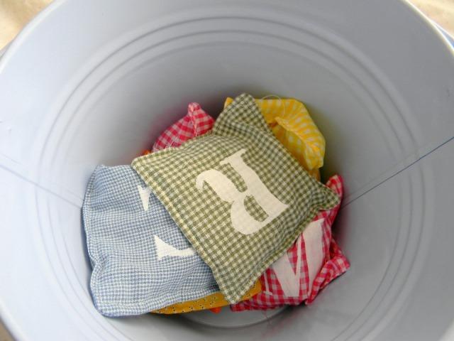 46 ABC bean bags