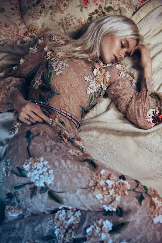 Abbey Lee Kershaw by Lachlan Bailey (Bloom Forth - Vogue China May 2012)