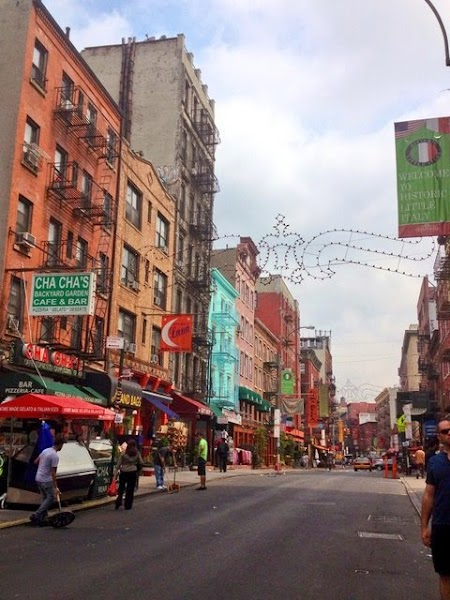 Tur culinar New York: Little Italy