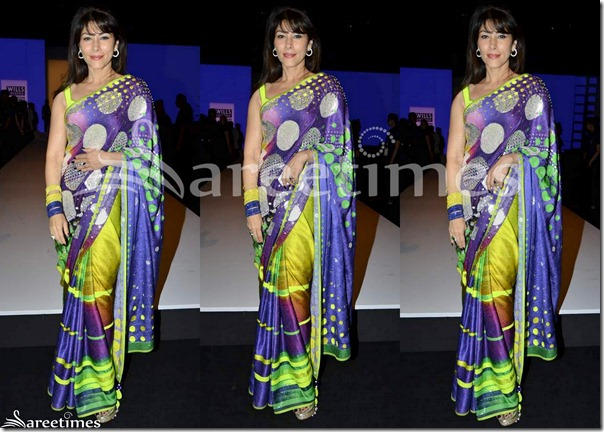 Designer_Multicolor_Saree