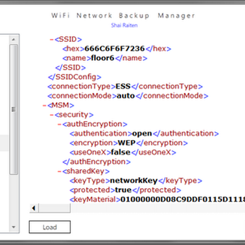 Wi-Fi Network Backup Manager