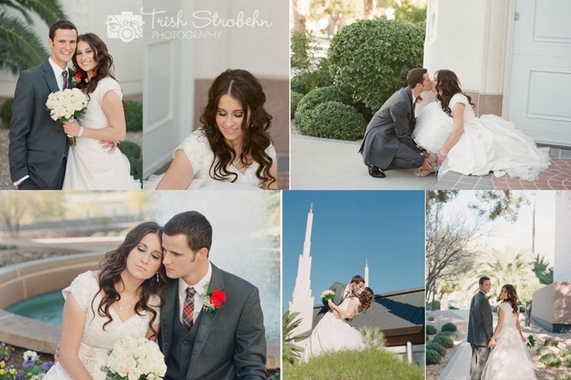 FIlm collage las vegas lds temple wedding photography