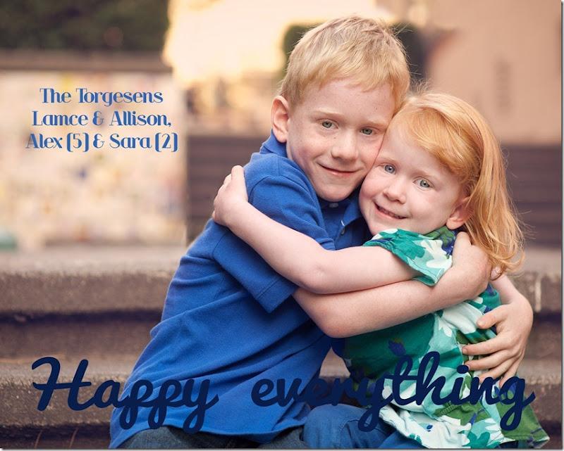 holiday card 2012