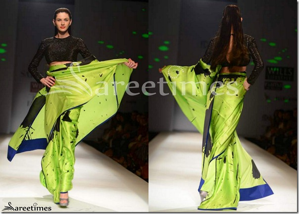 Satya_Paul_Green_Sari