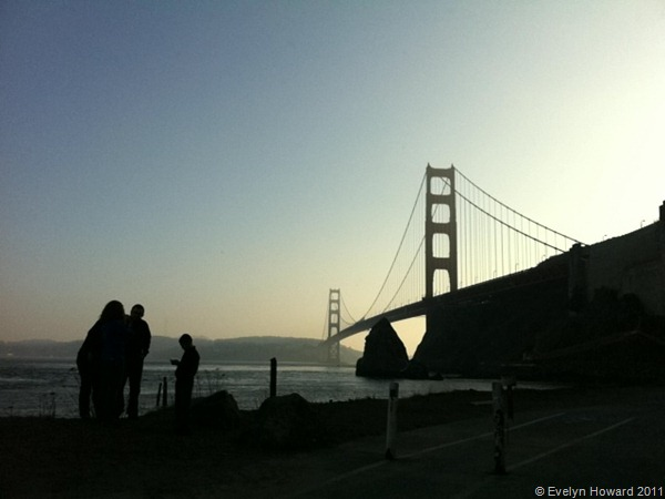 Golden Gate Bridge © Evelyn Howard 2011