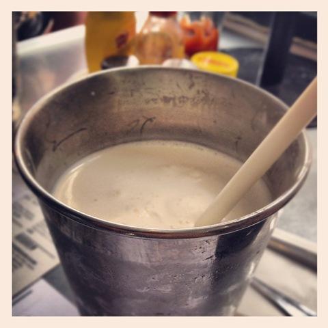 #245 - Byron Burger's vanilla mlkshake