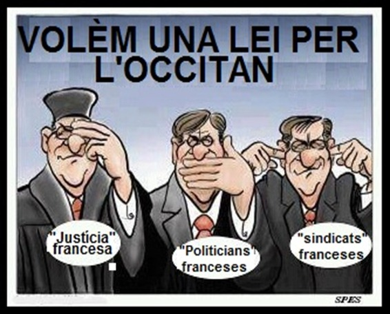 Volèm una lei per l'occitan