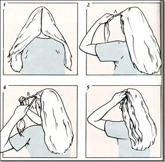 Как сделать косу с лентой своими руками