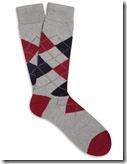 J Crew Argyle Knit Socks