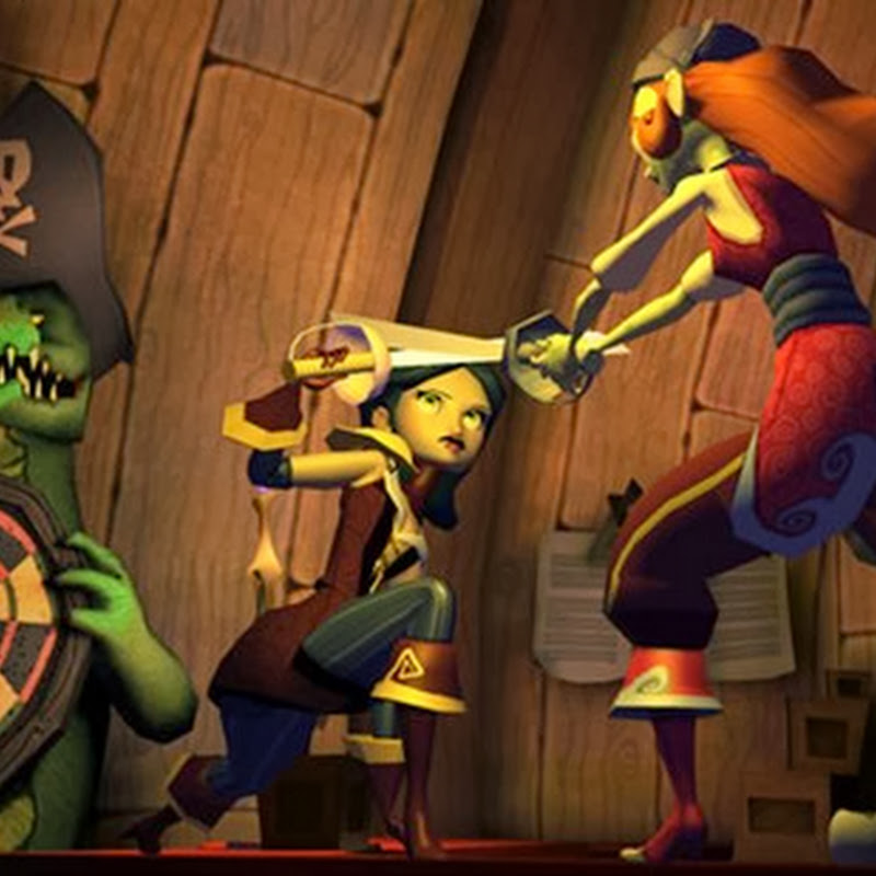 Tales of Monkey Island: Chapter 4: The Trial & Execution of Guybursh Threepwood.