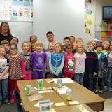 WBFJ Cici's Pizza -  Walkertown Elementary - Ms. Bray's 2nd Grade Class - Walkertown - 12-3-14