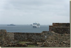 Journey and Navy ship from Castle (Small)